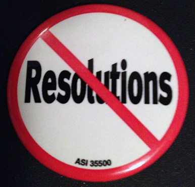 No resoutions