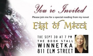 """Sheila Flaherty reads """"East of Mecca"""" at The Book Stall"""