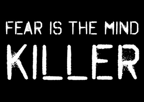 Fear iIs the Mind Killer