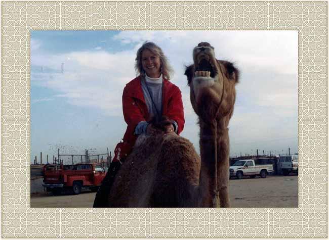 Sheila on camelback